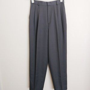 NWT Classiques Entier Pleated Wool Trouser Taupe